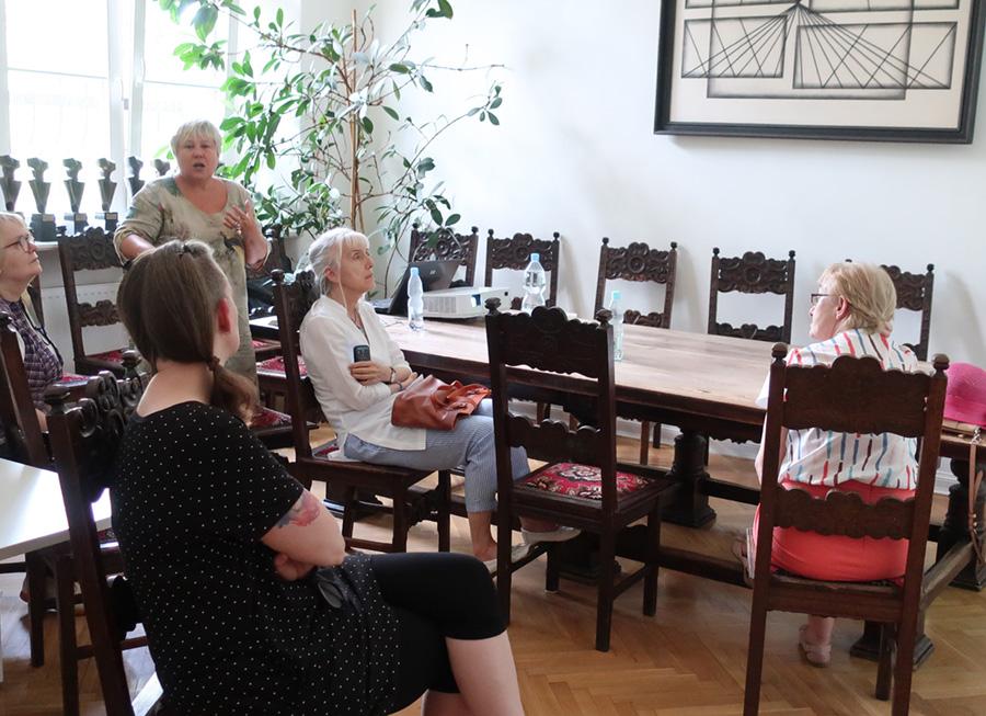 Spotkanie dla Członków Stowarzyszenia Przyjaciół Muzeum Narodowego weWrocławiu